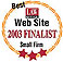 best small firm web site finalist