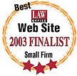 best small law firm web sites